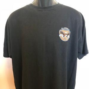 Vintage Shirts - 90s Southern Most Rider Key West Shirt Harley Bike